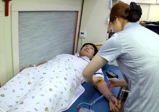 <사진>아시아나IDT, 사랑의 헌혈 캠페인 실시